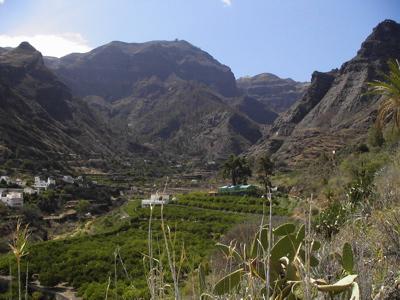 Trekking im Tal von Agaete, Gran Canaria