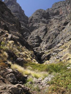 Trekking, Felsen von Tamabada