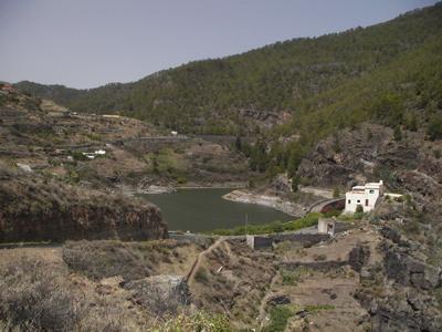 Stauseen im Norden von Gran Canaria