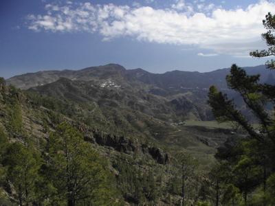 Ziel des Trekking, Artenara