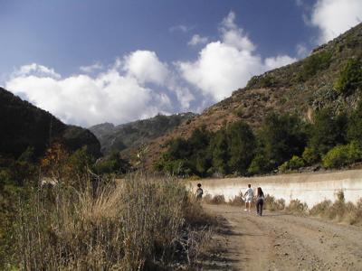 Wandern um den Barranco Oscuro auf Gran Canaria
