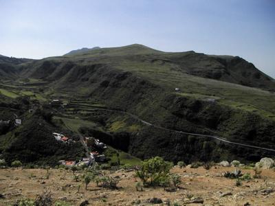 Wandern zum Pico Viento im Norden von Gran Canaria