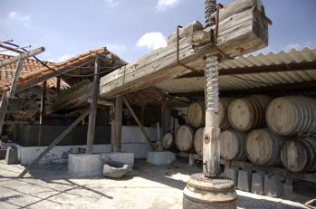 Weinpresse beim Wandern auf Gran Canaria