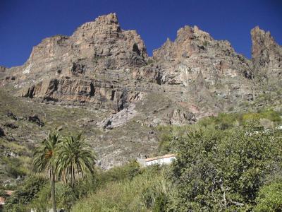 Wandern durch den Cañon del Jierro auf Gran Canaria