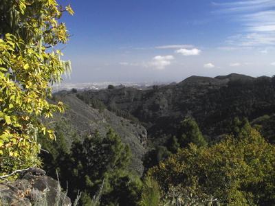 Wandern von Valsendero ins Zentrum von Gran Canaria